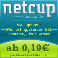 netcup Gutscheine, Management, Webhosting, vServer, SSL, Domains, Cloud Server,netcup.de
